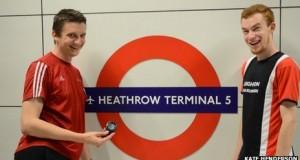 Record for London Tube Station broken